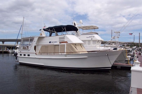 44' Island Gypsy Aft Cabin Motoryacht 1997 | PAINT BY NUMBER