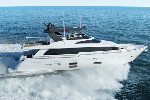 photo of 74' Hatteras M75 Panacera 2020
