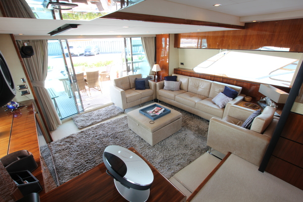 Picture Of: 78' Fairline 78 Squadron 2009 Yacht For Sale | 3 of 25