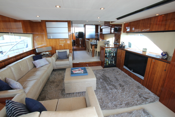 Picture Of: 78' Fairline 78 Squadron 2009 Yacht For Sale | 2 of 25