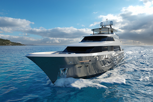 2020 Crescent 110' 110 Fast Pilothouse Yacht CRESCENT 110 | Picture 3 of 13