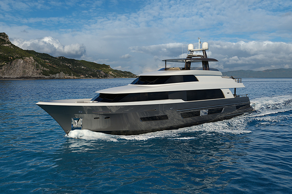 2020 Crescent 110' 110 Fast Pilothouse Yacht CRESCENT 110 | Picture 1 of 13