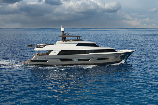 Crescent 110 Fast Pilothouse Yacht