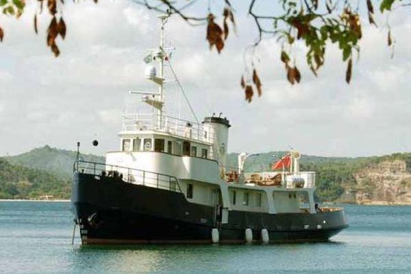 85' Custom Motor Yacht 1962 | Catriel