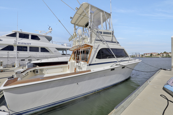 1986Egg Harbor 35 ft 35 Sport Fisherman
