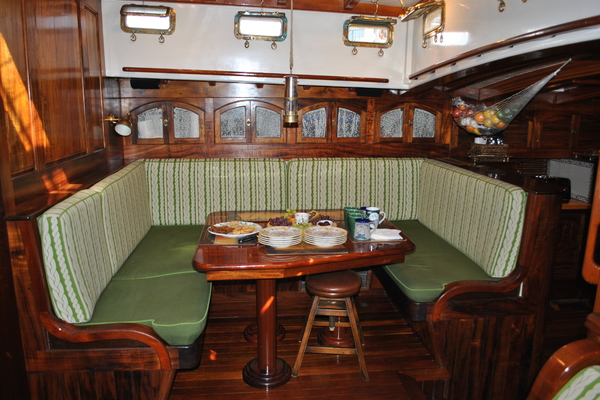 1991 Covey Island Boat Works 73' Schooner TREE OF LIFE   Picture 6 of 45