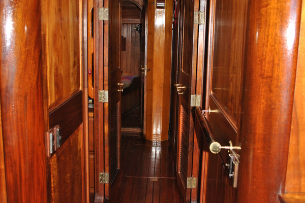 1991 Covey Island Boat Works 73' Schooner TREE OF LIFE   Picture 4 of 45