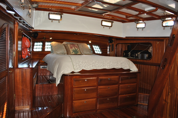 1991 Covey Island Boat Works 73' Schooner TREE OF LIFE   Picture 7 of 45