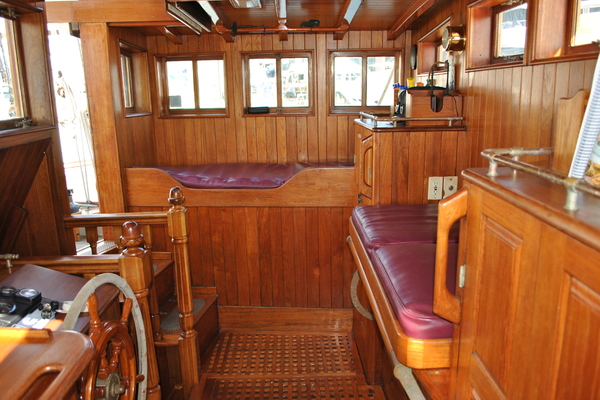 1991 Covey Island Boat Works 73' Schooner TREE OF LIFE   Picture 1 of 45