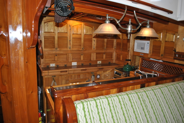 1991 Covey Island Boat Works 73' Schooner TREE OF LIFE   Picture 2 of 45