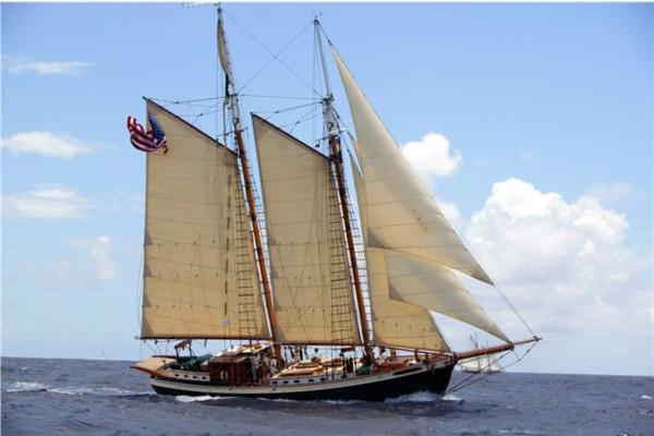 73' Covey Island Boat Works Schooner 1991 | TREE OF LIFE