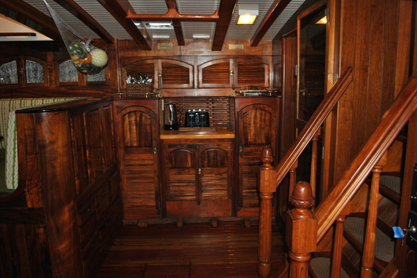 1991 Covey Island Boat Works 73' Schooner TREE OF LIFE   Picture 3 of 45