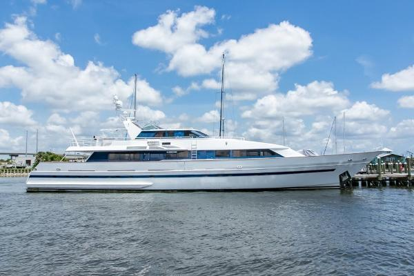 124' Royal Huisman Pilothouse Motoryacht 1985 | Salt Dancer