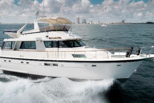 54' Hatteras 54 Motor Yacht 1988 | Buffalo Gal