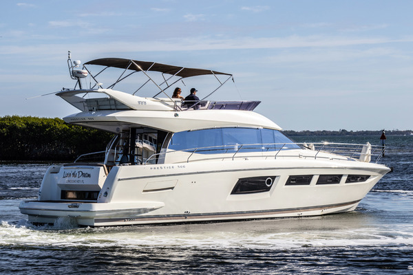 2014Prestige 50 ft 500 Fly   LIVIN  THE DREAM
