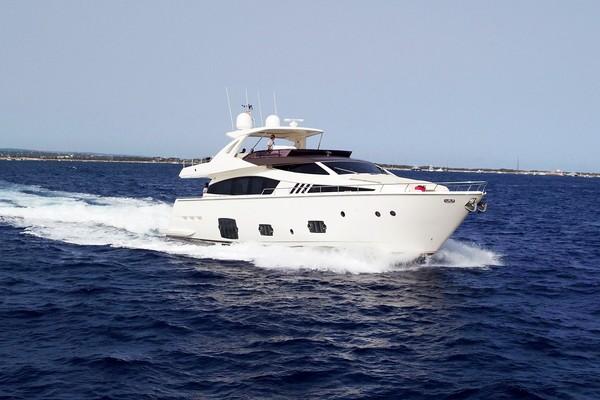 81' Ferretti Yachts F800 2012 | La Pace