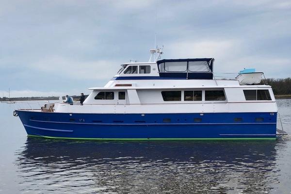68' Huckins 68 Pilothouse 1981 | Naomi