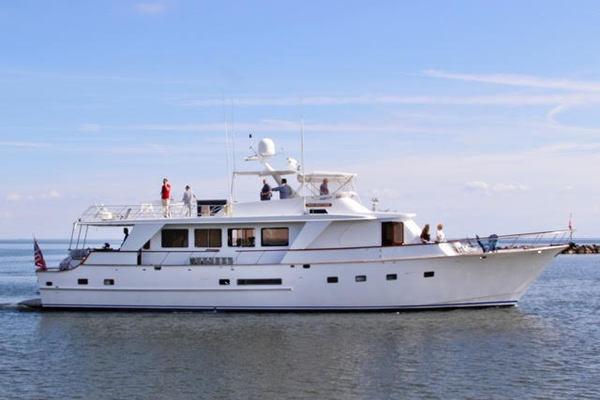 1989DeFever 78 ft Long Range Cruiser   Pattam
