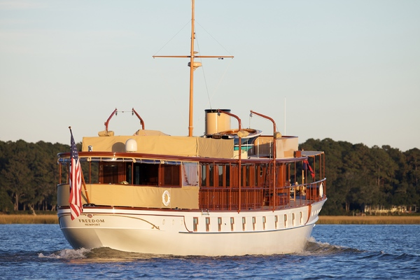 1926Mathis Trumpy 104 ft Mathis Motor Yacht   FREEDOM