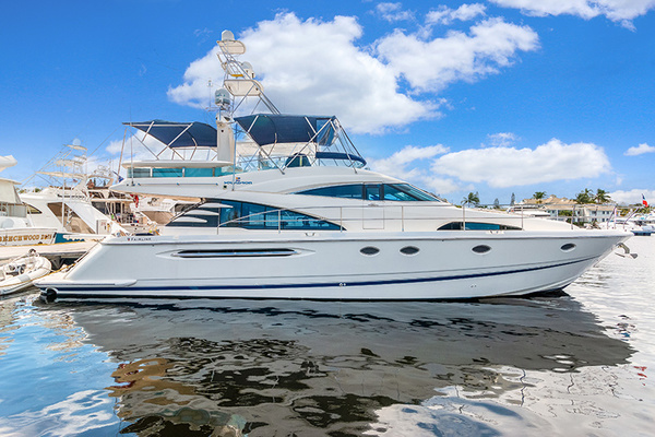 58' Fairline Squadron 2002 | Perfect