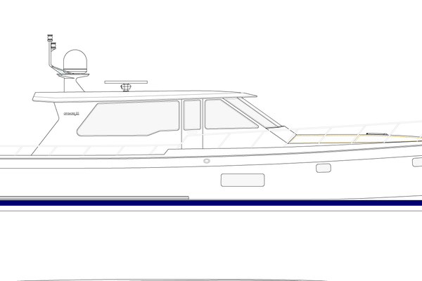2020 Offshore Yachts 54' Sport Sedan  | Picture 4 of 5