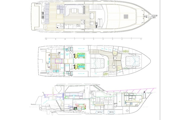 2020 Offshore Yachts 54' Sport Sedan  | Picture 5 of 5