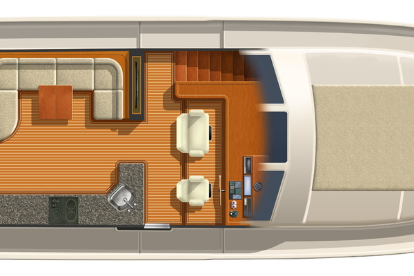 2020 Offshore Yachts 54' Sport Sedan  | Picture 3 of 5