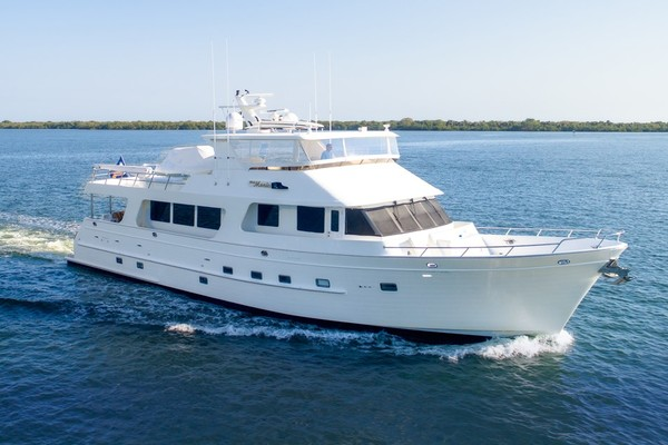 80' Outer Reef Yachts Raised Pilothouse 2007 | Ms. Monica