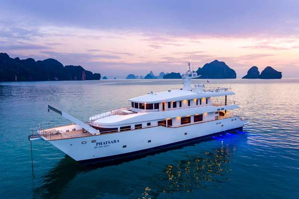 121' Silkline International, Thailand Incat Crowther 37M Power Catamaran 2012