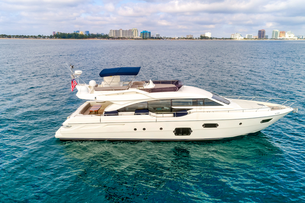 69' Ferretti Yachts Flybridge Motor Yacht 2013 | Kaos Ii