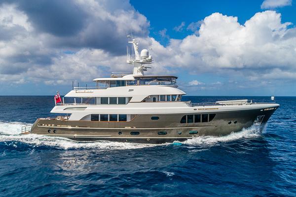 135' Alloy Yachts AY44 2013 | CARYALI