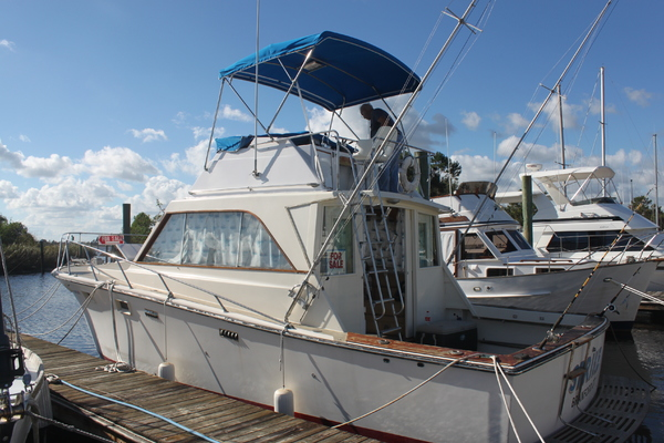 36' Pacemaker Sport Fisherman 1972 | Strike