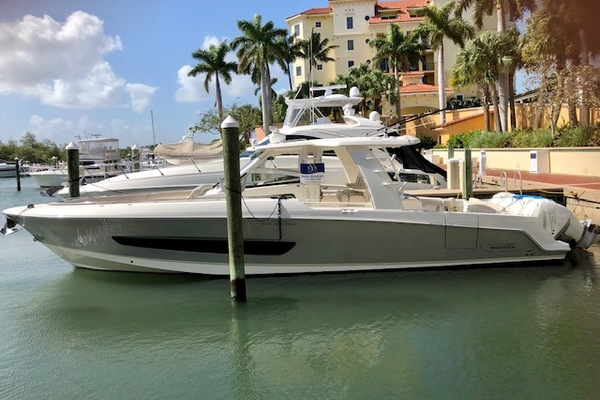photo of This 2018 42' Boston Whaler 420 Outrage for Sale - SYS Yacht Sales