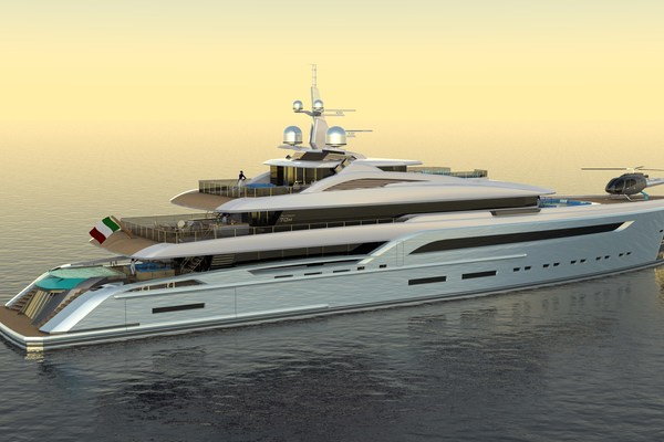 2023 Custom 230' Preferred Builder - Fincantieri Yachts PLATINUM X | Picture 6 of 18