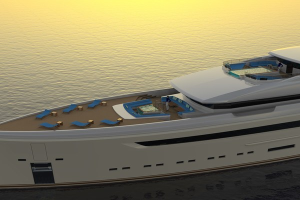 2023 Custom 230' Preferred Builder - Fincantieri Yachts PLATINUM X | Picture 1 of 18