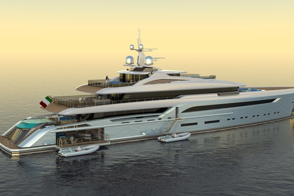 2023 Custom 230' Preferred Builder - Fincantieri Yachts PLATINUM X | Picture 5 of 18