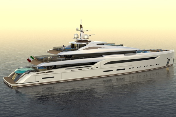 2023 Custom 230' Preferred Builder - Fincantieri Yachts PLATINUM X | Picture 7 of 18
