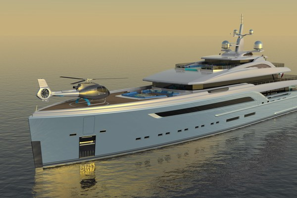 Custom 230' Preferred Builder - Fincantieri Yachts 2023 Platinum X