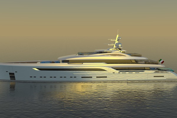 2023 Custom 230' Preferred Builder - Fincantieri Yachts PLATINUM X | Picture 3 of 18