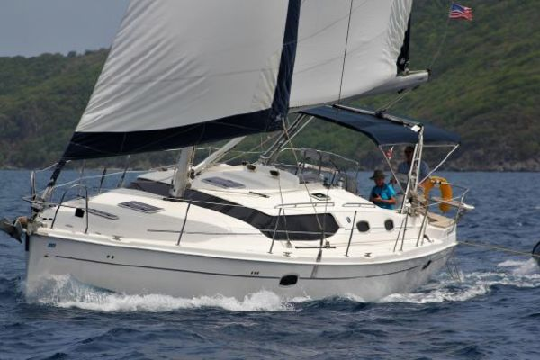 45' Hunter 45 Deck Salon 2008 | Island Sister
