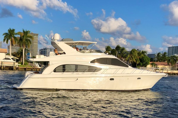 63' Hatteras 63 Raised Pilothouse 2002 | Talant's Show