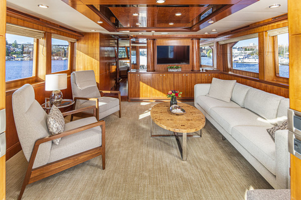 Picture Of: 74' Ocean Alexander OA 74 2007 Yacht For Sale   2 of 47