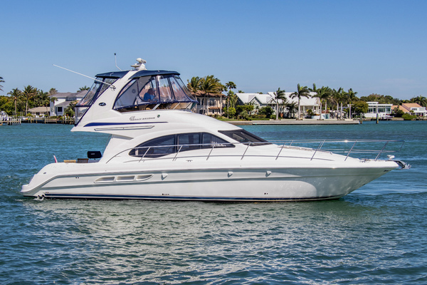 45' Sea Ray 420 Sedan Bridge 2005 | All 4 Lees
