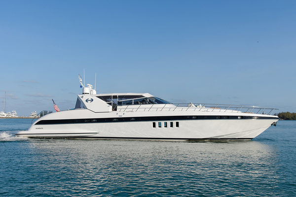 80' Mangusta 80 Open 2005 | Happy