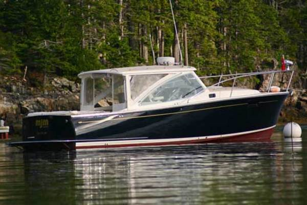 2007MJM 29 ft 29z Downeast
