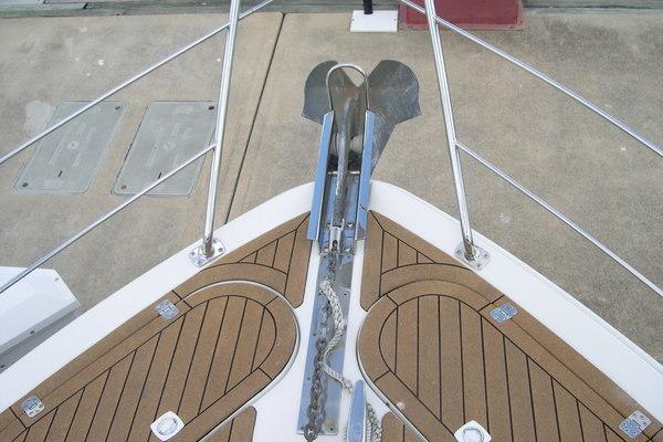 2004Carver 45 ft 450 Voyager Pilothouse   Sandy Bottom