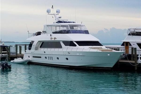 85' Hargrave Motor Yacht 2007 | Roxy Maria