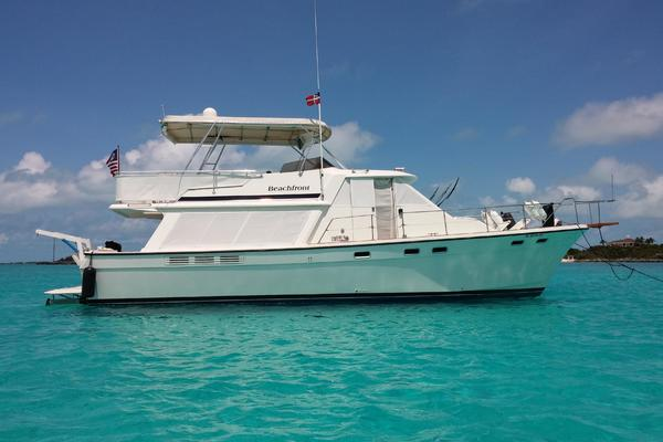 45' Bayliner 4550 Pilothouse Motoryacht 1985 | Beachfront