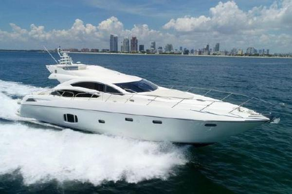 74' Sunseeker 74 Predator Sport Bridge 2010 | Blue Dragon