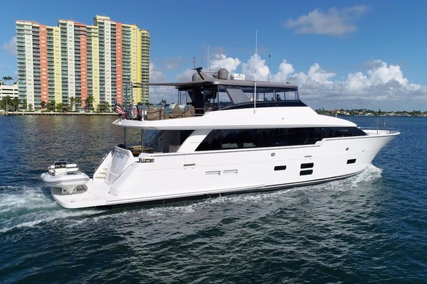 Picture Of: 97' Hatteras M90 2018 Yacht For Sale | 4 of 110